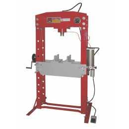 Scie à ruban pour métaux horizontale et verticale Holzmann 540W BS115 monophasée