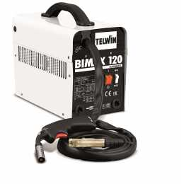 Poste TELWIN BIMAX 120 AUTOMATIC 230V à fil FLUX .