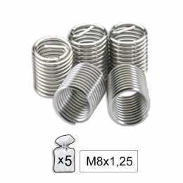 Filets rapportés M8 x 1.25