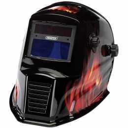 Masque de soudeur et de meulage solaire automatique SF flamme.